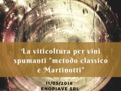 La viticoltura per i vini spumanti (Metodo classico e Martinotti)