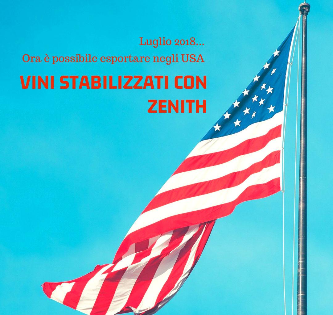Zenith negli USA