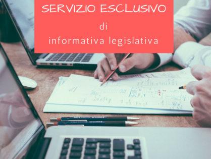 Servizio di informativa legislativa